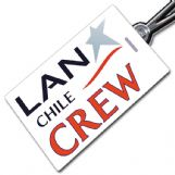 LAN Chile Logo Tag